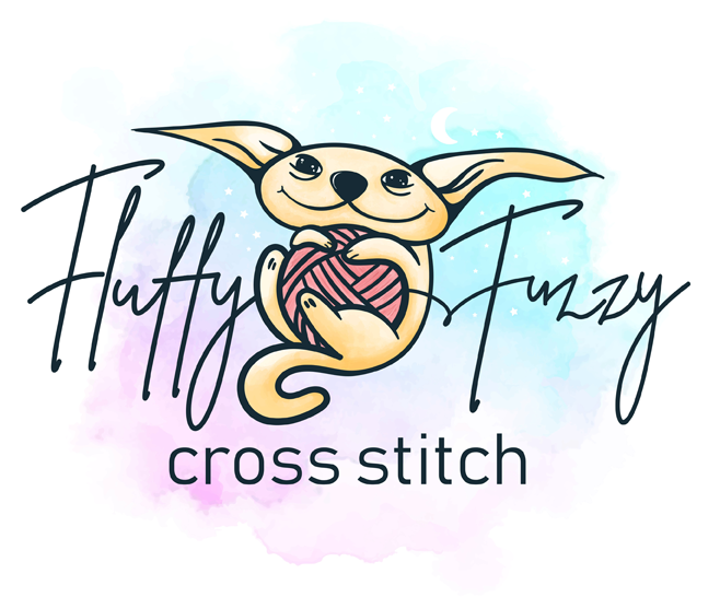 Fluffy Fuzzy Cross stitch