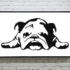 Bulldog Cross Stitch Pattern