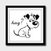 Dog puppy cross stitch pattern