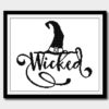 Wicked Witches Cross Stitch Pattern