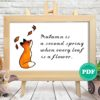 cross stitch pattern autumn fox and leaves