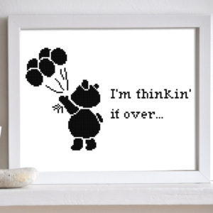 Bear cross stitch pattern
