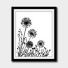 Dandelions cross stitch pattern