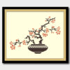 Tree in a pot cross stitch pattern